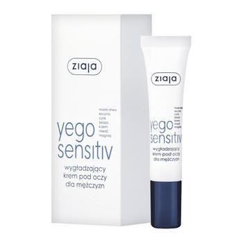 Ziaja Yego Sensitiv, glättende Augencreme für Männer, 15 ml