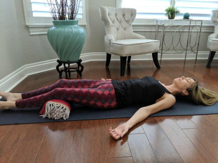 restorative yoga savasana