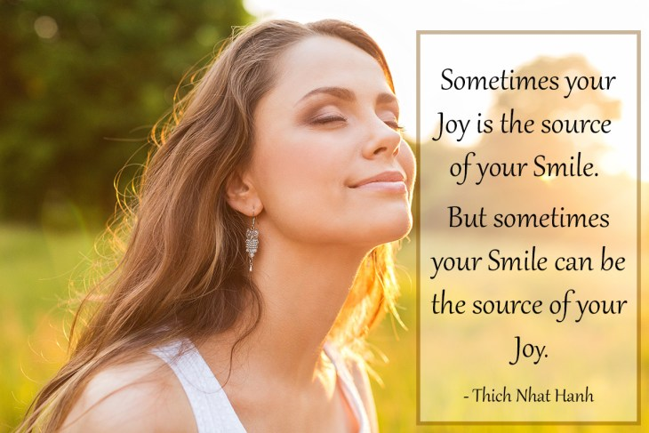 The Smiling Meditation uses the power of your smile to reduce stress, boost your mood & generate glowing inner peace.