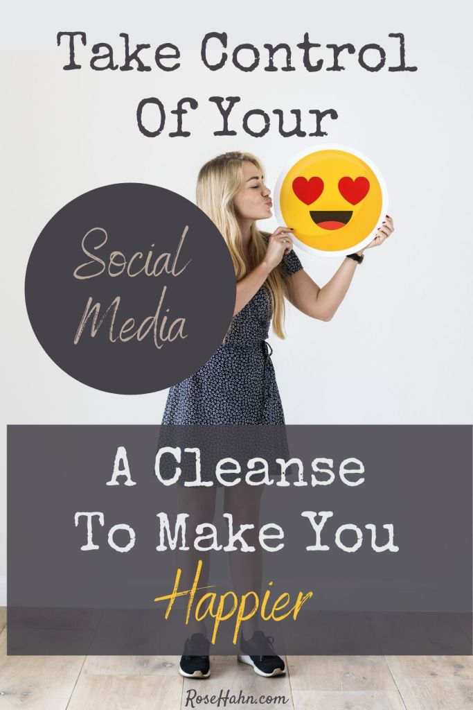 This 6-Step Social Media Cleanse can ensure your time on social media supports your health & happiness and help prevent some of the drawbacks associated with social media use.