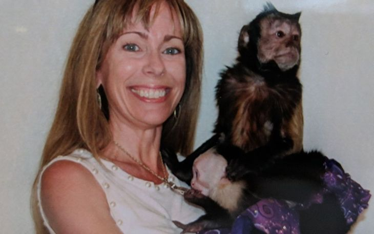 Me with the monkeys!