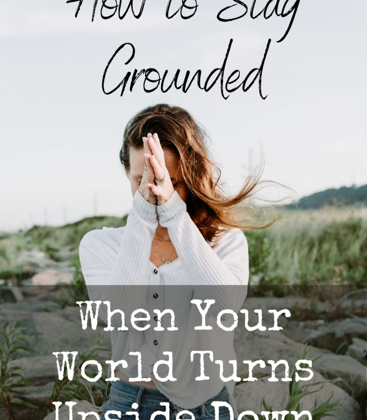 Knowing how to stay grounded in the midst of chaos can keep you calm, collected & capable of making wise decisions at precisely the time you most need it.