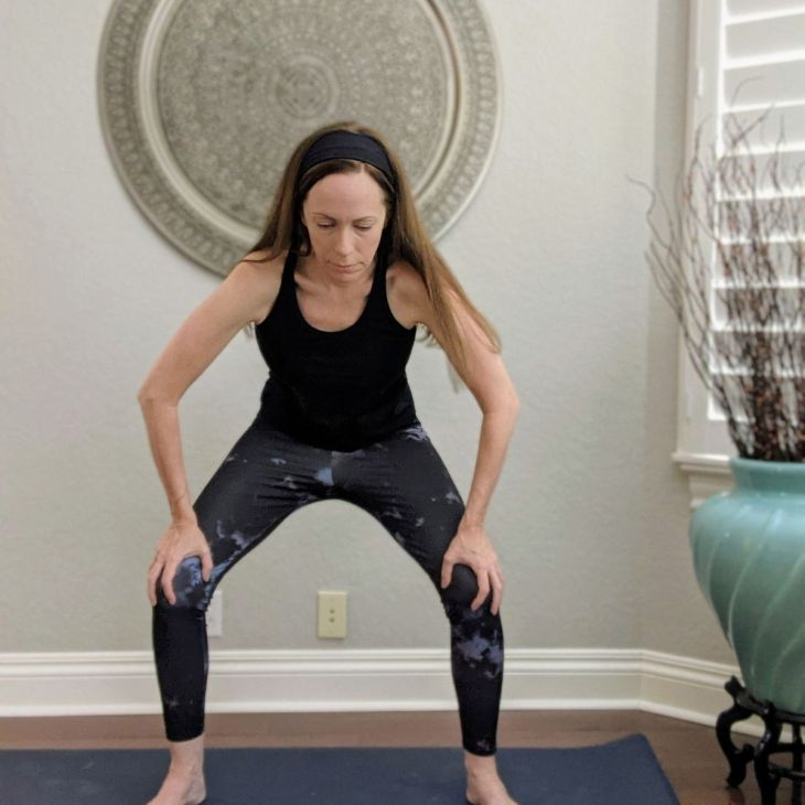 Yoga for gut health: Uddiyana Bandha, or stomach lift, supports gut health and tones the solar plexus nerves.