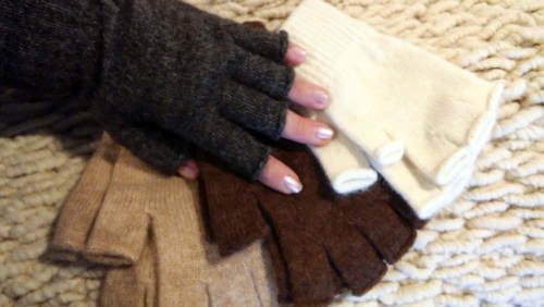 Rosehaven Alpacas Fingerless Gloves