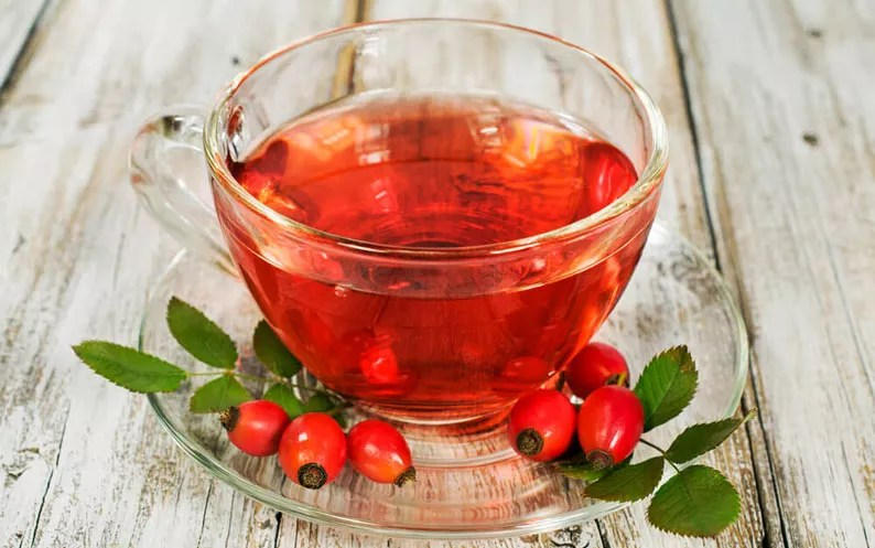 How to Make Healthy Rosehip Tea