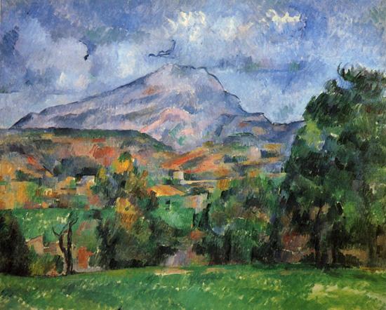 Paul Cezanne - Mont Sainte-Victoire (1888-90)