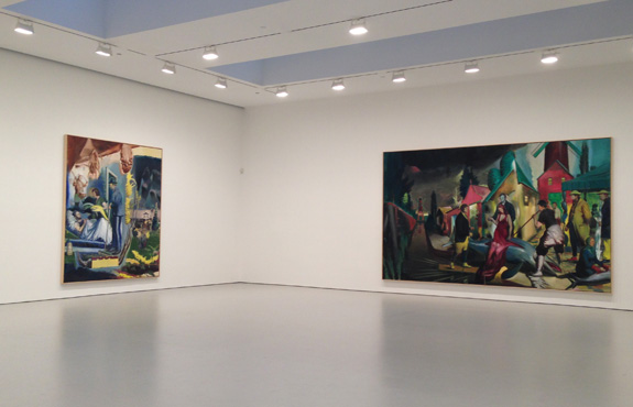 Neo Rauch at David Zwirner Gallery