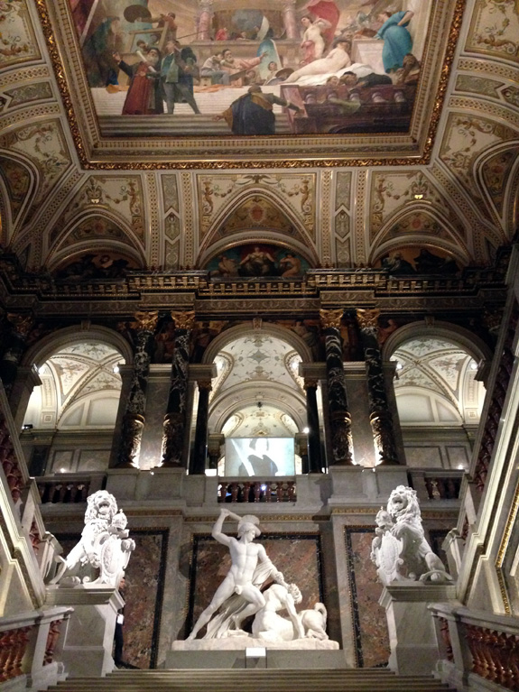Inside the Kunsthistorisches Museum Wien