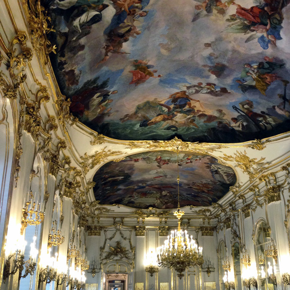 Opulence at the Schönbrunn Palace