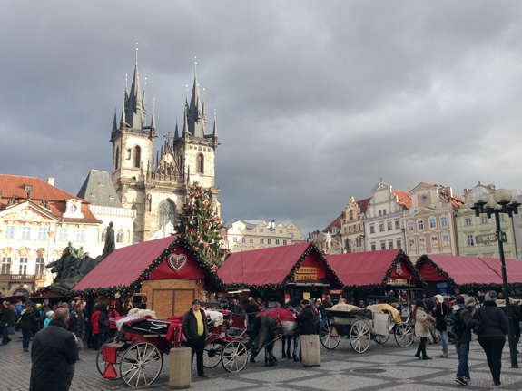 The famous Christmas market