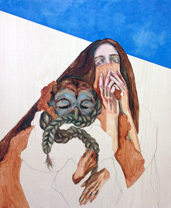 The underpainting and early stages