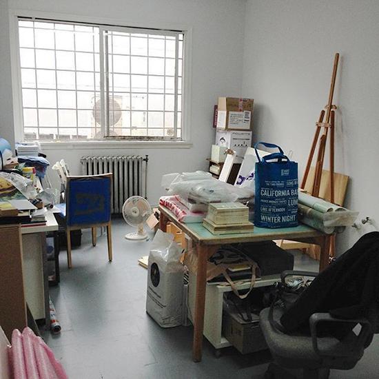 Bright & shiny new studio