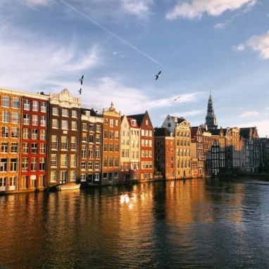 Amsterdam in early Autumn