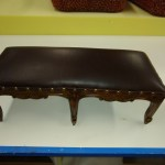 Upholstery Foot Stool 2 - After - 2020