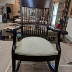 Upholstery Rocking Chair - After - 2018