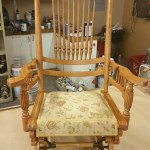 Upholstery Rocking Chair - After - 2020
