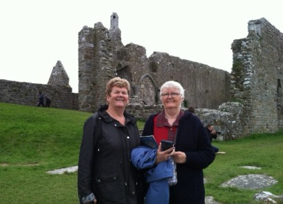 In Clonmacnoise with the sisters