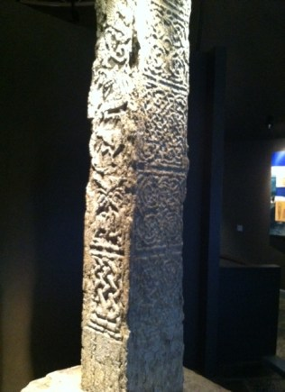 From the Museum at Clonmacnoise