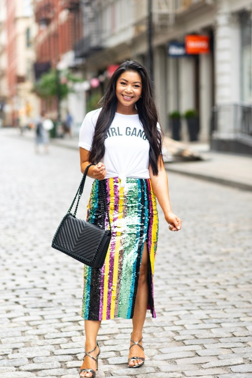 stripe-sequin-skirt