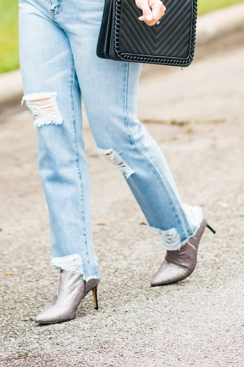 silver-booties-with-jeans