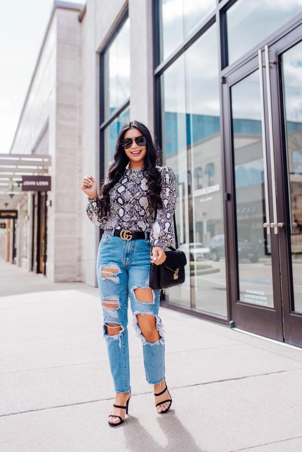 snakeskin-blouse
