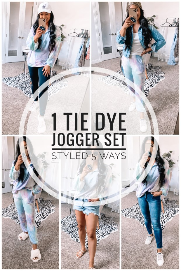 how to style a jogger set
