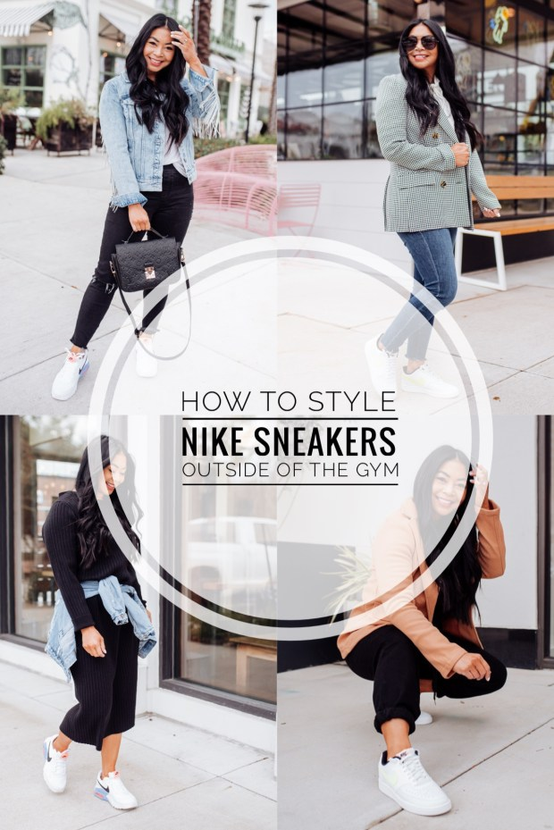 how to style nike sneakers