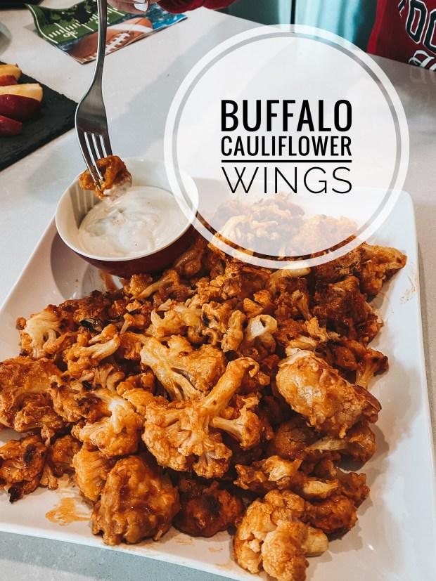 buffalo cauliflower wings