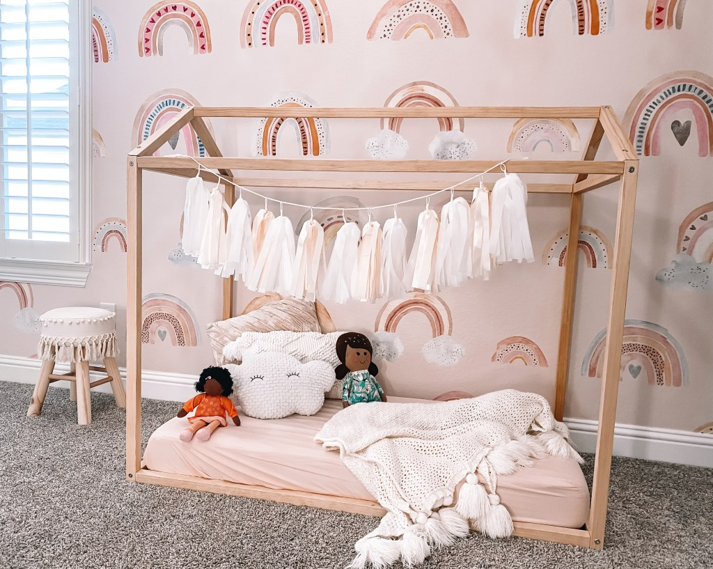 boho toddler room