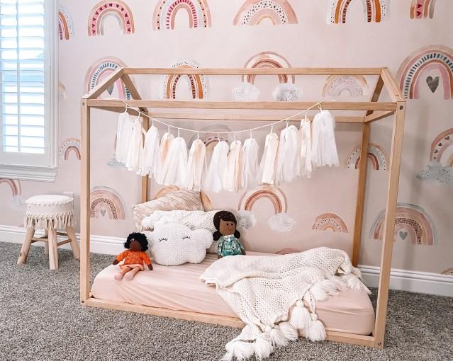 boho toddler room