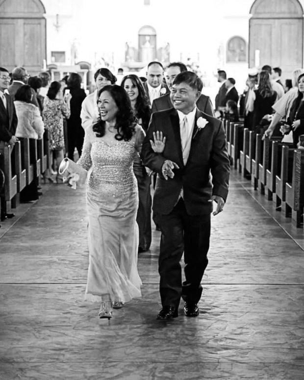 parents of the bride photo