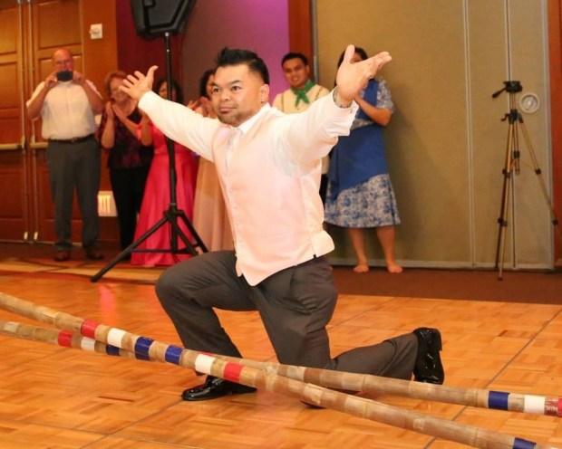 bamboo sticks folk dance