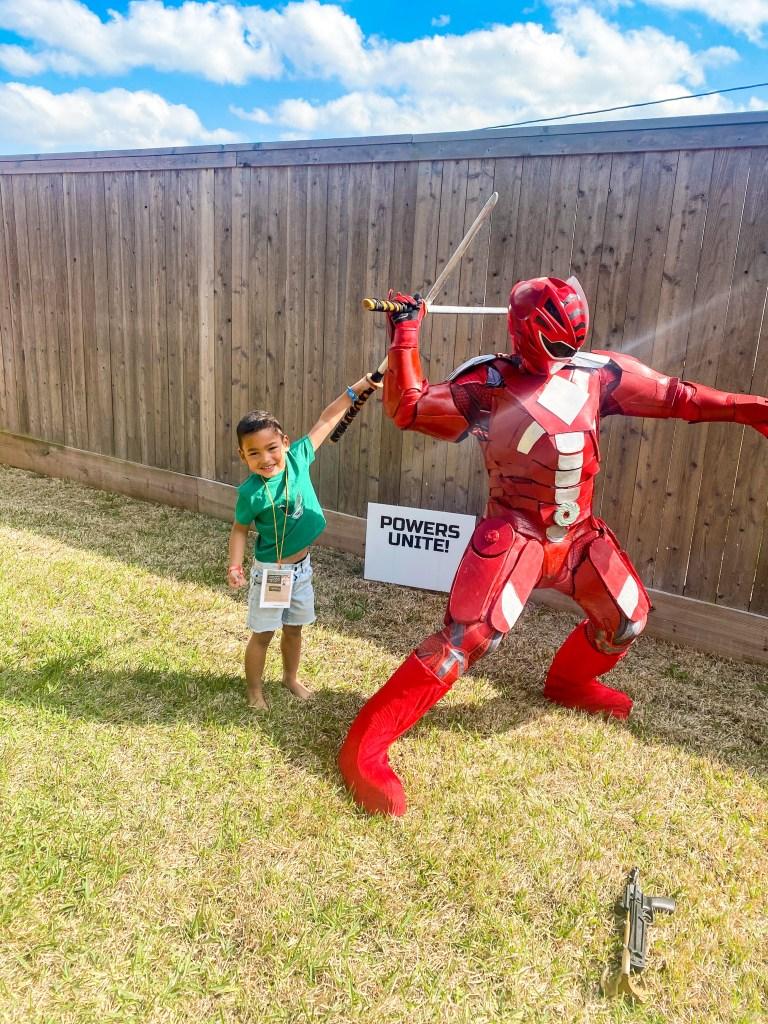 houston superhero characters