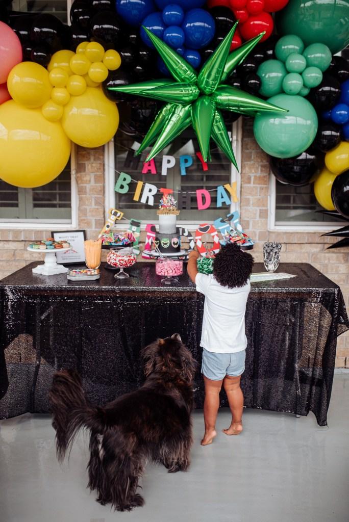 boys birthday party idea