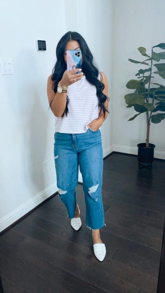 target denim jeans