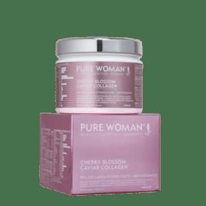 Pure Woman® Cherry Blossom Caviar Collagen (180g poeder)