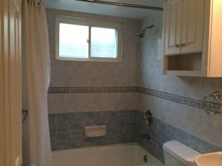 Nicely redone bathroom