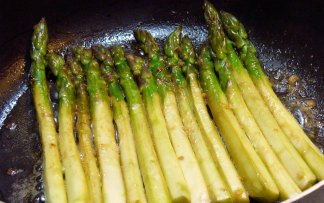 Pan Seared Asparagus (100)