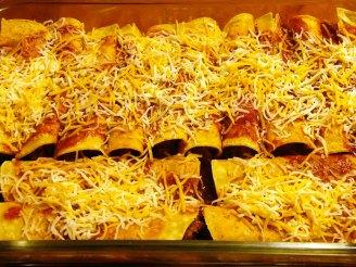 Spicy Beef & Chorizo Enchiladas (4)