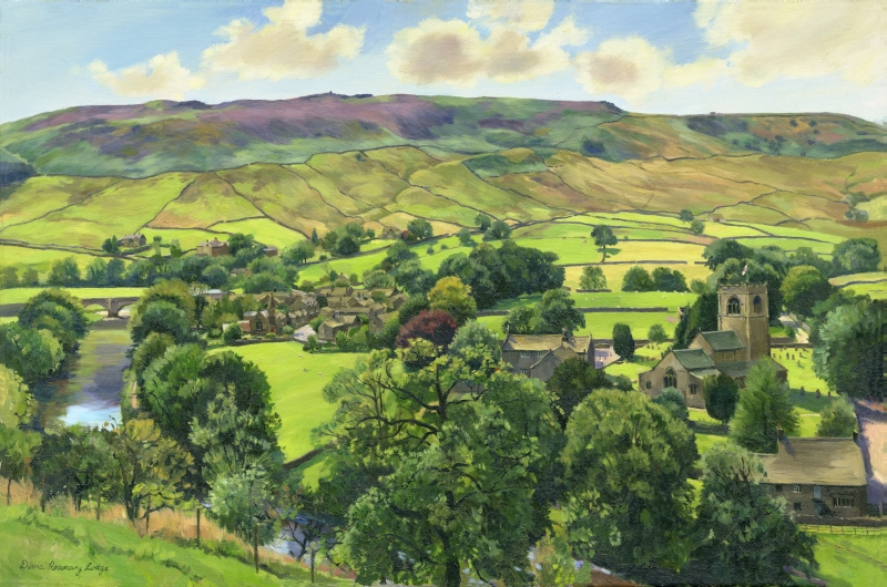 Yorkshire Dales Landscapes by Diana Rosemary Lodge