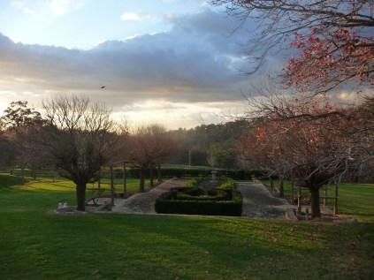 Sun starting to set Yarrabah