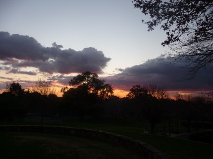 Sunset at Yarrabah