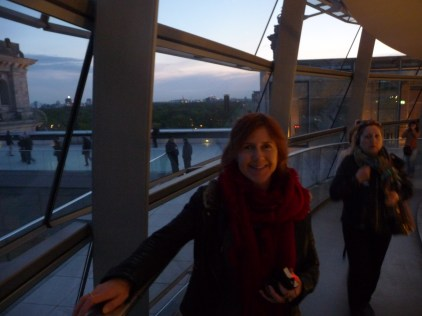 Mme La Chic Inside the Reichstag Building