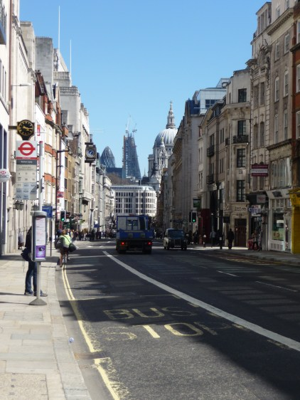 Fleet Street leading up to St Paul'sCathedral