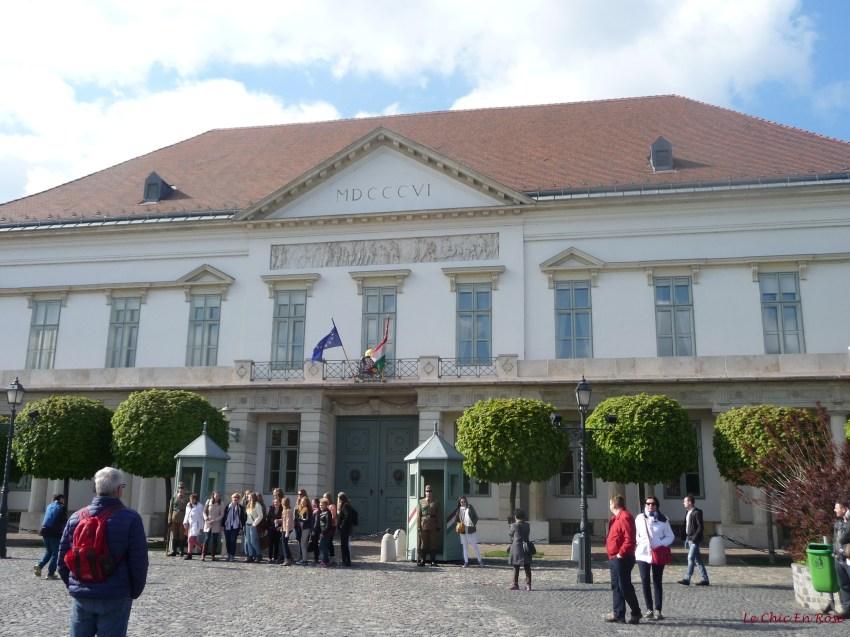 Alexander Palace Buda (or Sandor Palota). Home to the Hungarian President.