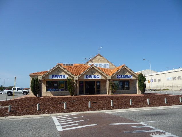 Perth Diving Academy and Dive shop on Northside Drive Hillarys Boat Harbour