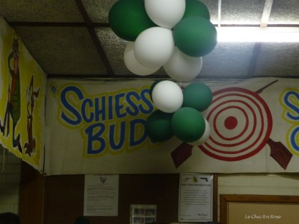 """The Schiess Bude (Shooting Gallery) make sure you get the """"i"""" and the """"e"""" the correct way round or it means something quite different not for polite company!"""