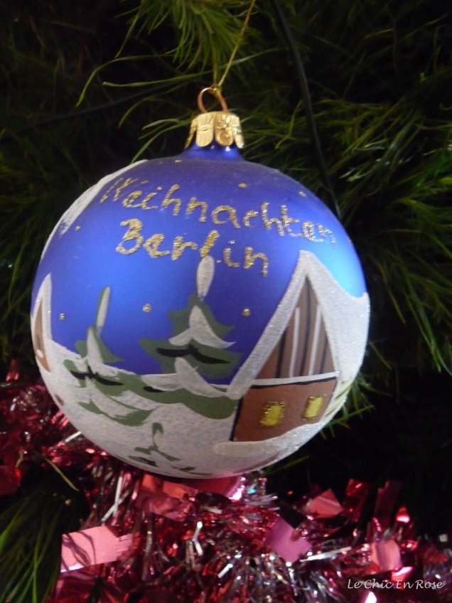 """My treasured """"Weihnachten"""" Christmas ornament from the Berlin Christmas Markets"""