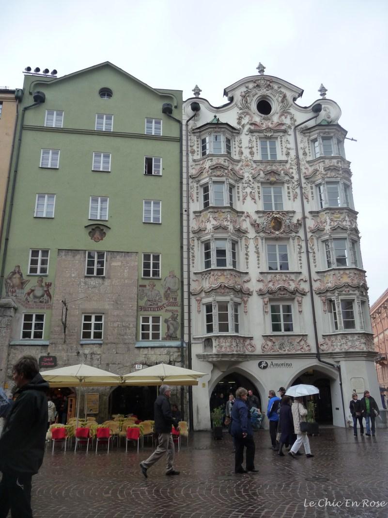 Buildings in the Altstadt Square