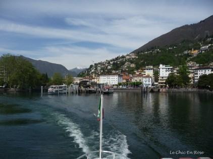 View back to Locarno